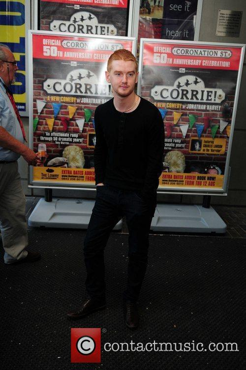 Mikey North 'Corrie' the play - Press night...