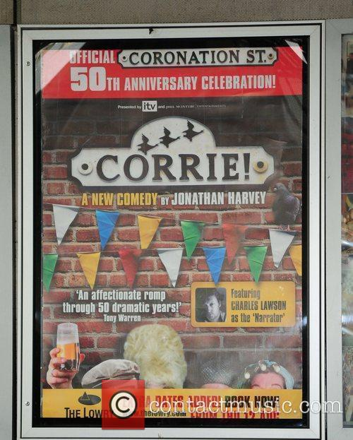 Poster 'Corrie' the play - Press night at...