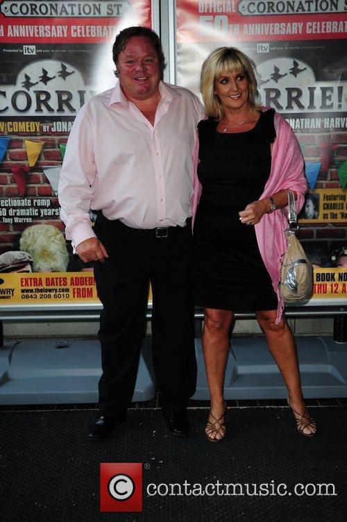 Ted Robins 'Corrie' the play - Press night...