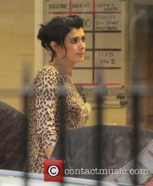 Pregnant Kym Marsh 'Coronation Street' stars at the...