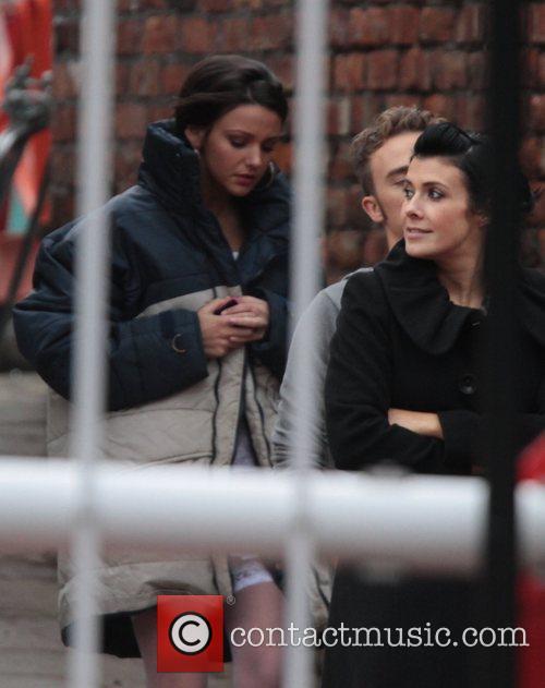 Michelle Keegan, Kym Marsh 'Coronation Street' stars at...