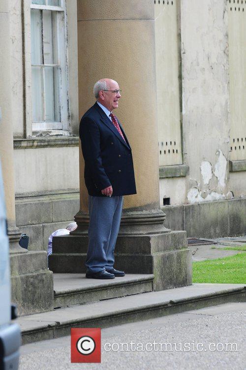 Malcolm Hebbden 'Coronation Street' Wedding filming on Location....