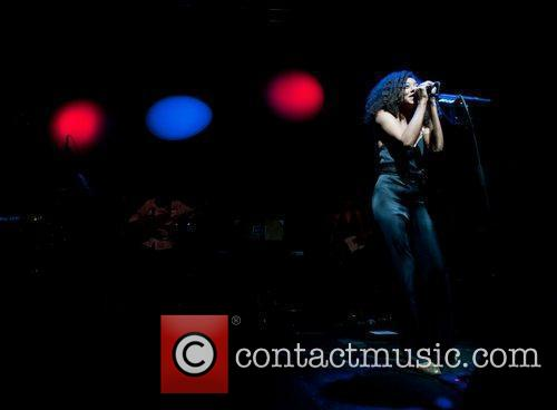 Corrine Bailey Rae performs at the O2 Academy