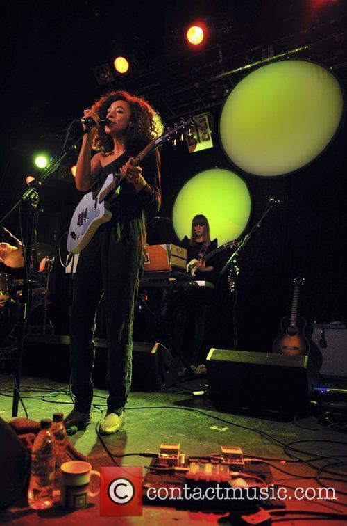 Corinne Bailey Rae performs at Leeds Metropolitan University...
