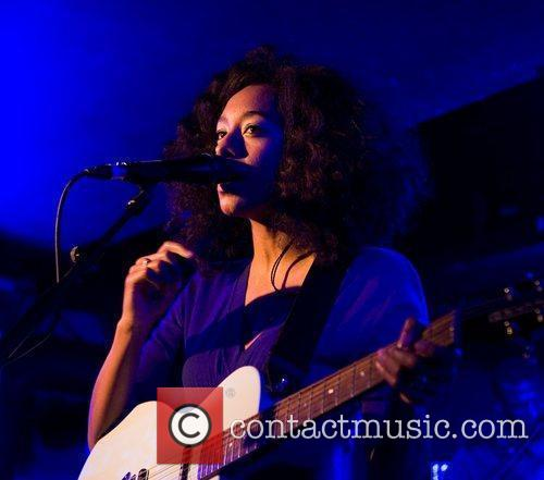 Corinne Bailey Rae performing at Oran Mor, Glasgow...