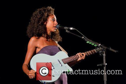 Corinne Bailey Rae performing live at Cool Jazz...