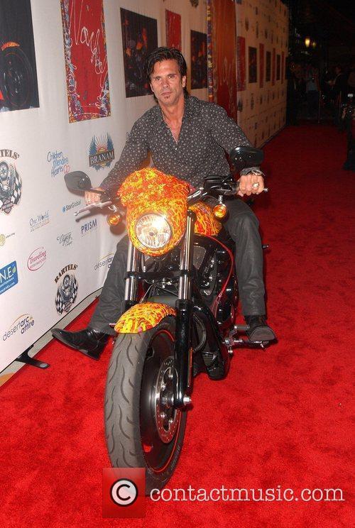 Lorenzo Lamas Harley Davidson showcase: Unveiling of Cosmic...