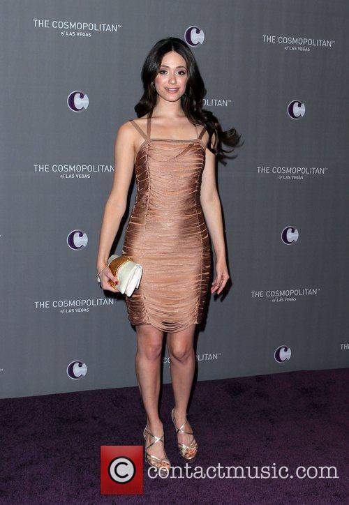 Emmy Rossum, Celebration and Las Vegas 6