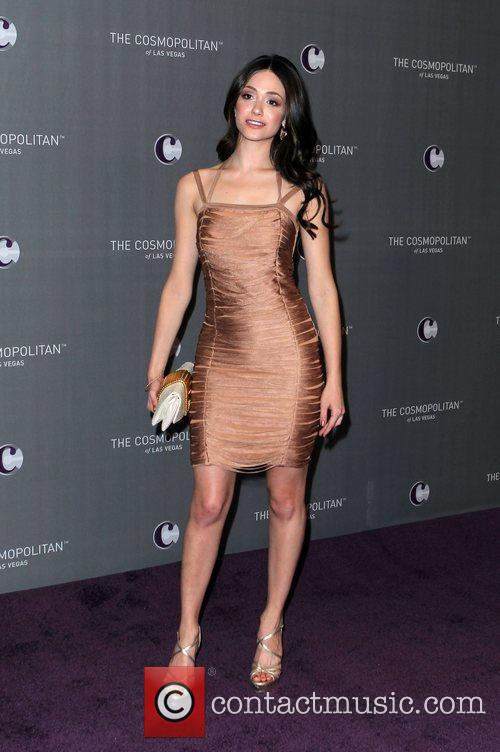 Emmy Rossum, Celebration and Las Vegas 3