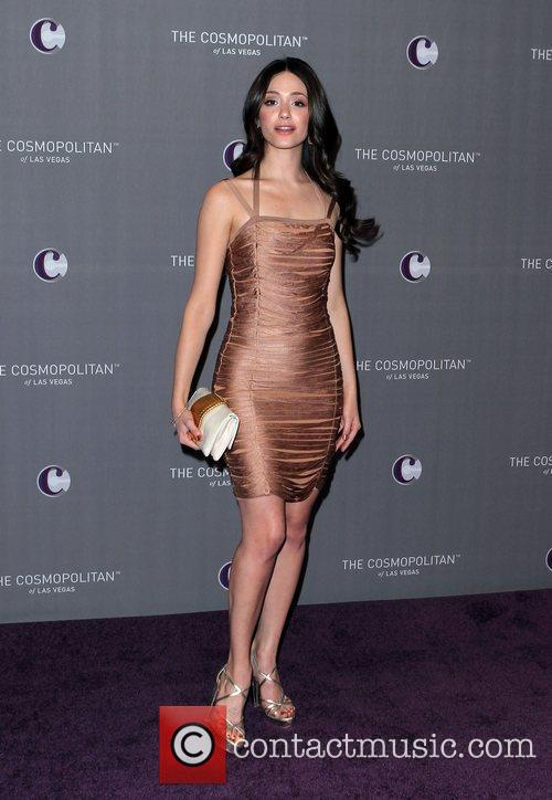 Emmy Rossum, Celebration and Las Vegas 1