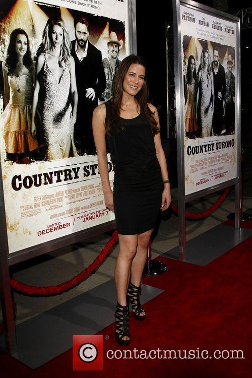 Natalie Faye Screening of 'Country Strong' held at...