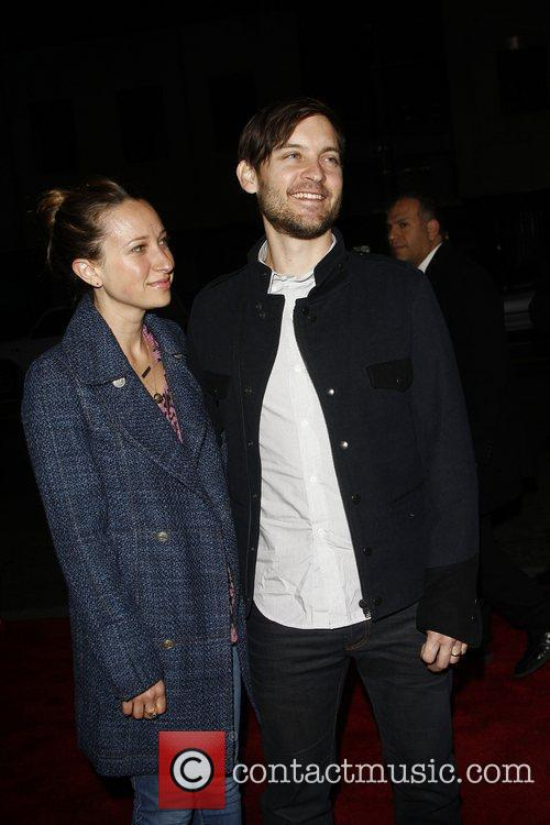 Tobey Maguire, Jennifer Meyer and Mann 1