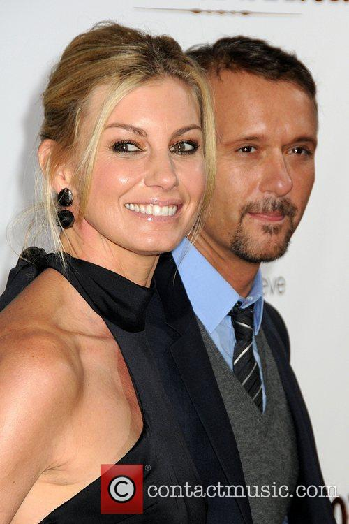 Faith Hill, Mann and Tim Mcgraw 1