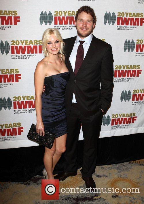 Anna Faris and Chris Pratt The International Women's...
