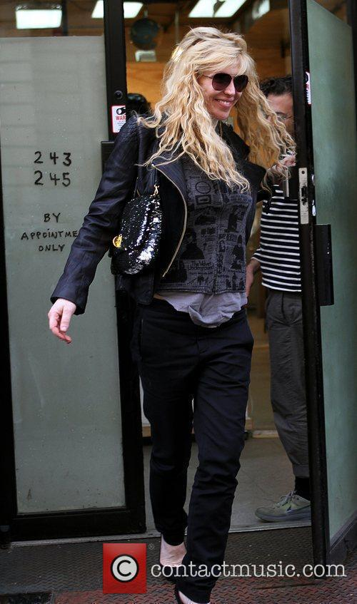 Courtney Love seen out shopping in Manhattan. New...