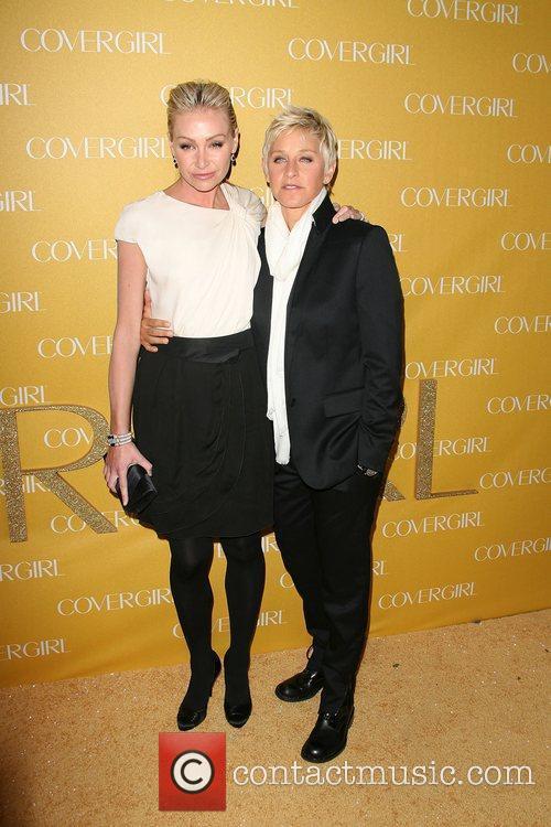 Portia De Rossi and Ellen Degeneres 1