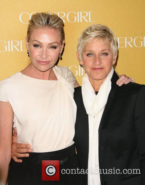 Portia De Rossi and Ellen Degeneres 6
