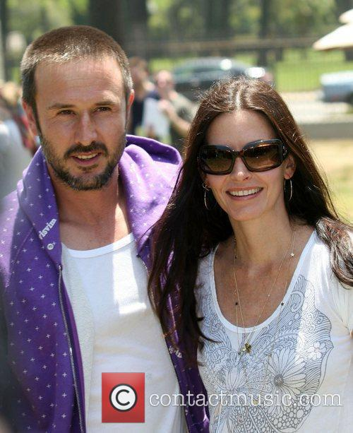 * COX & ARQUETTE SPLIT COURTENEY COX and...