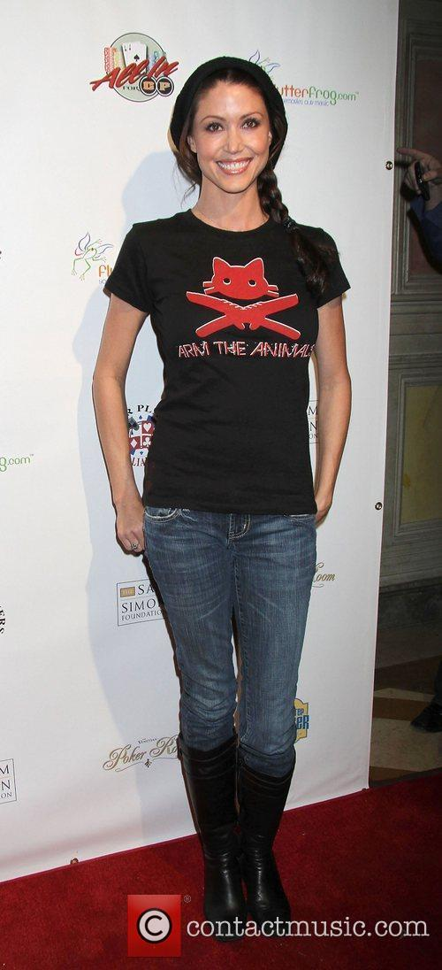 Shannon Elizabeth All In For CP Celebrity Charity...