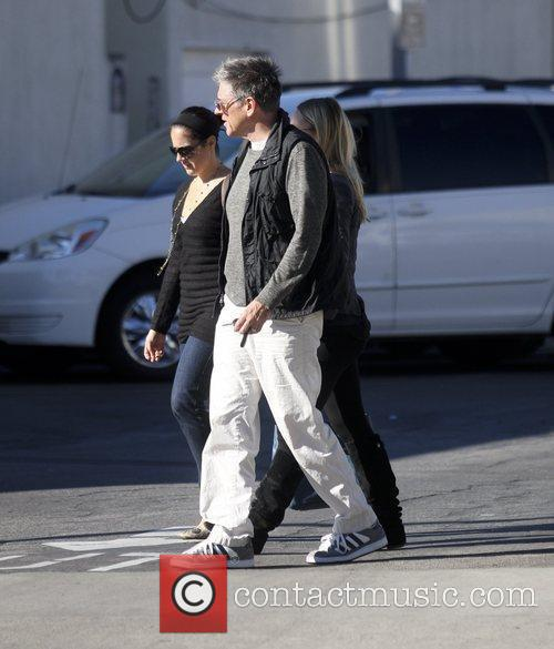 Out shopping with his family in West Hollywood.