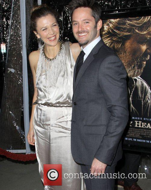 Maggie Gyllenhaal and Scott Cooper 3
