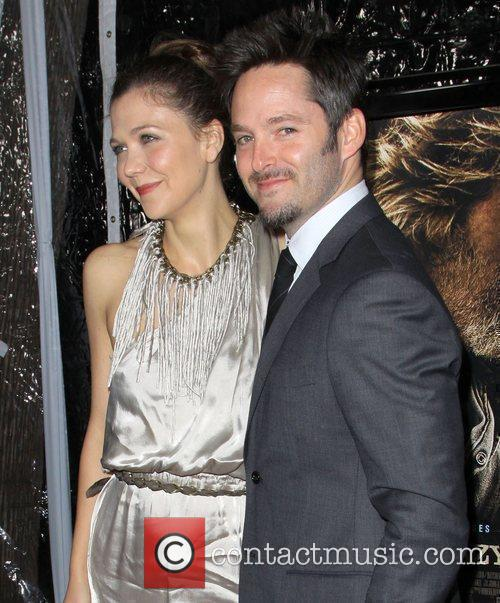 Maggie Gyllenhaal and Scott Cooper 4