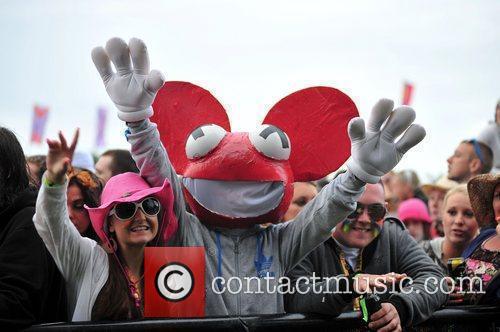 Deadmaus  Creamfields electronic music festival - day...