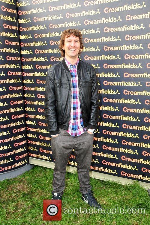 Gareth Wynne Creamfields electronic music festival - day...