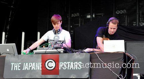 The Japanese Pornstars Creamfields electronic music festival -...