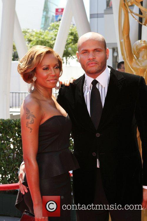 Mel B aka Melanie Brown and Stephen Belafonte...