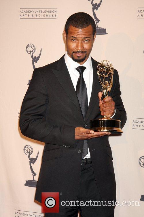 Isaiah Mustafa 2010 Creative Arts Emmy Awards held...