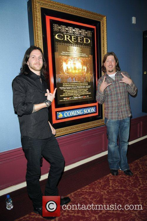 The premiere of 'Creed Live' held at the...
