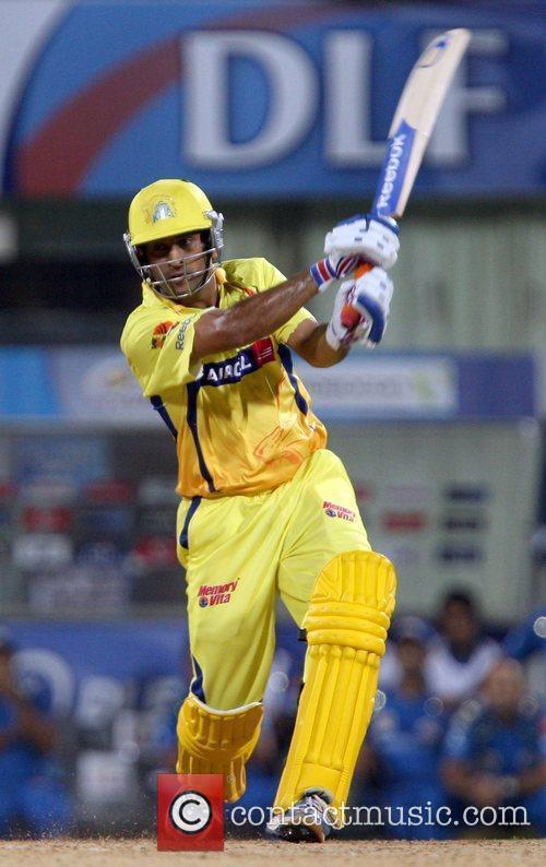 Suresh Raina  of Chennai Super Kings plays...