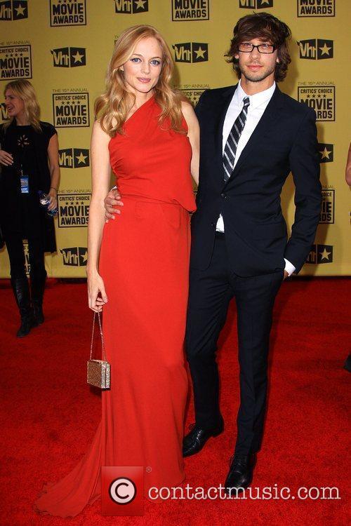 Heather Graham and Boyfriend Yaniv Raz 2