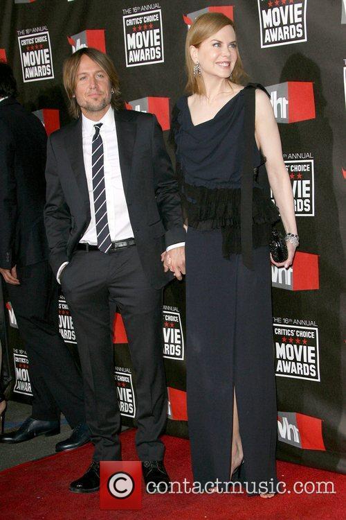 Keith Urban and Nicole Kidman 16th Annual Critics'...