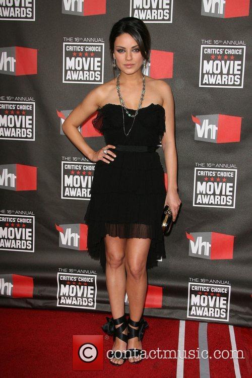 Mila Kunis 16th Annual Critics' Choice Awards held...