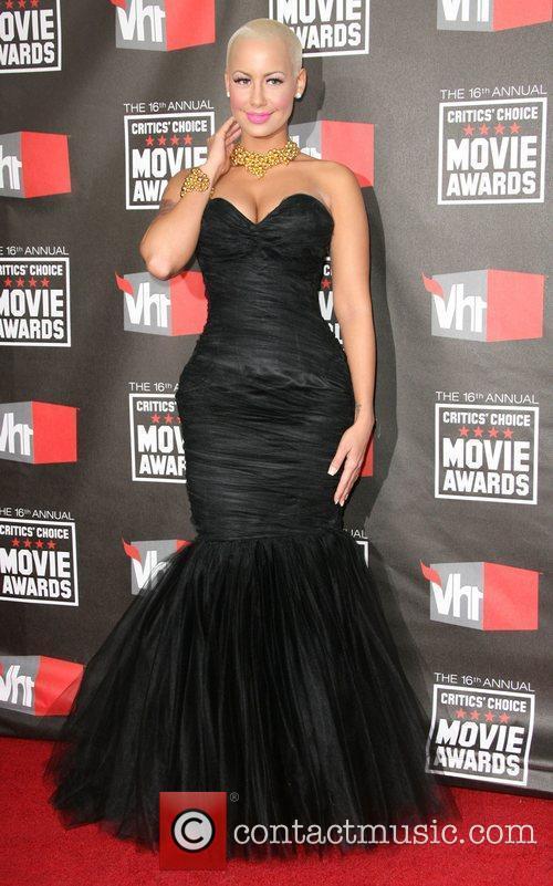 Amber Rose 16th Annual Critics' Choice Awards held...