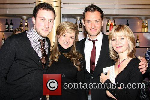 Ross Armstrong, Faye Winter, Jude Law and Jenny...