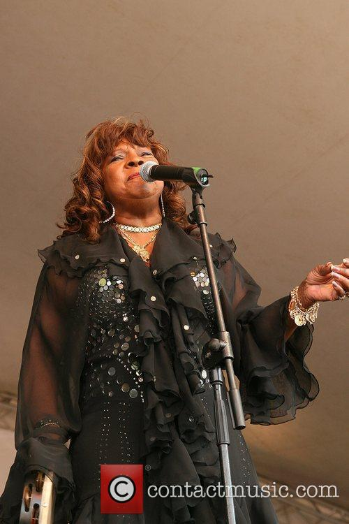 Martha Reeves Croydon Summer Festival 2010 held in...