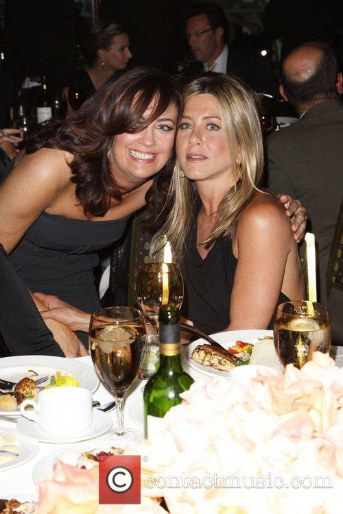 Jane Fleming and Jennifer Aniston The 2010 Crystal...