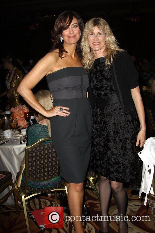 Jane Fleming and Laura Dern The 2010 Crystal...