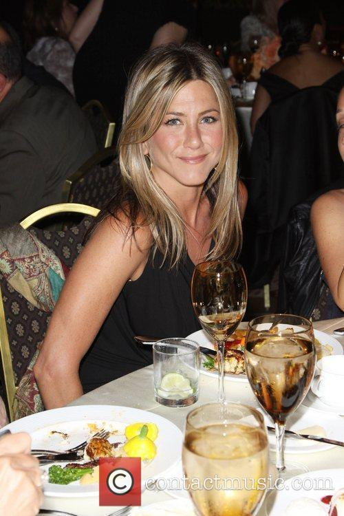 Jennifer Aniston The 2010 Crystal + Lucy Awards:...