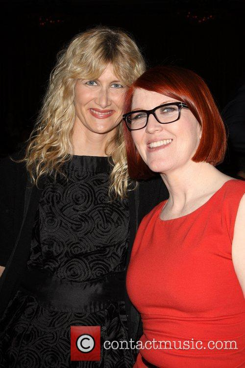 Kate Flannery and Laura Dern The 2010 Crystal...