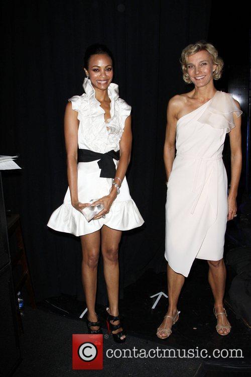 Zoe Saldana and Nicola Maramotti 8