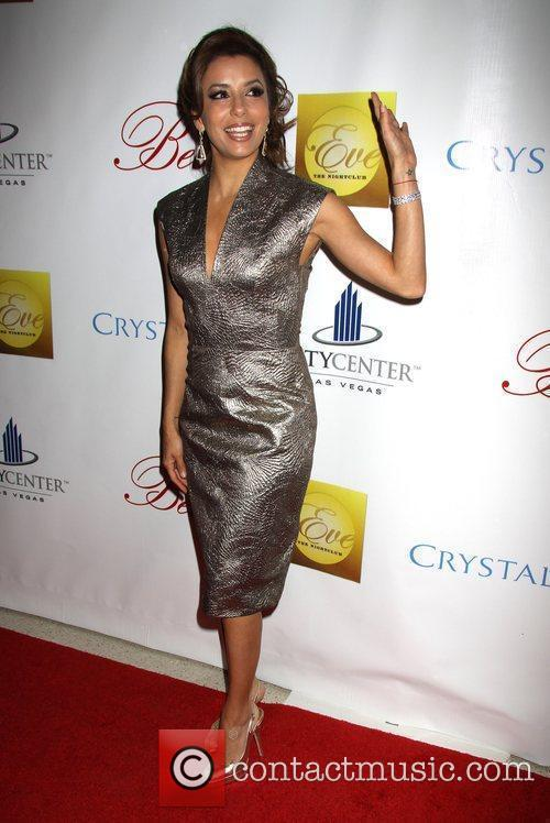 Eva Longoria Parker Crystals Retail and Entertainment District...