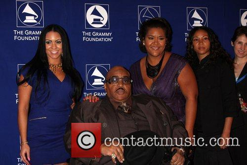 Solomon Burke With His Family 3
