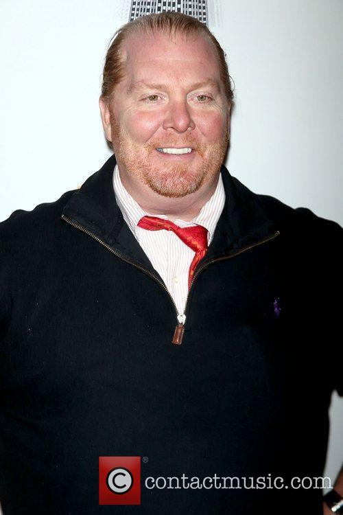 Mario Batali and Food Bank For NYC launch...