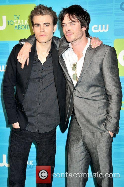 Paul Wesley and Ian Somerhalder 2010 The CW...