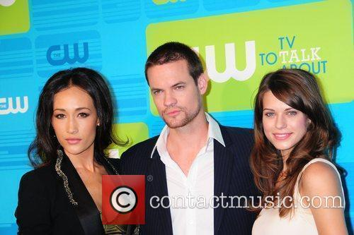 Maggie Q, Shane West and Lyndsy Fonseca 2010...