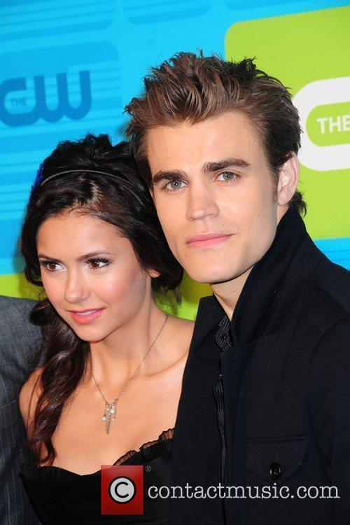 Nina Dobrev and Paul Wesley 2010 The CW...
